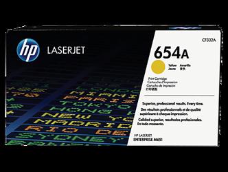 Toner oryginalny HP 654A, CF332A