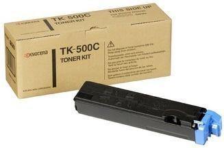 Toner oryginalny Kyocera TK-500C