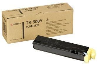 Toner oryginalny Kyocera TK-500Y