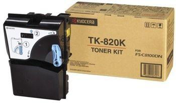 Toner oryginalny Kyocera TK-820K
