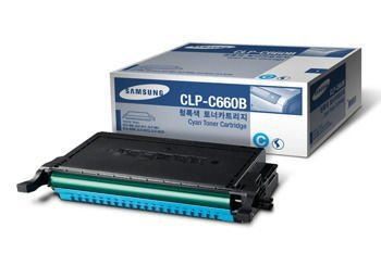 Toner oryginalny Samsung CLP-C660B