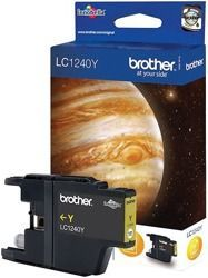 Tusz oryginalny Brother LC1240Y