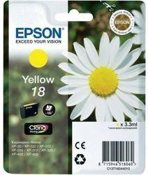 Tusz oryginalny Epson T1804 Y