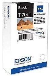 Tusz oryginalny Epson T7011 BK
