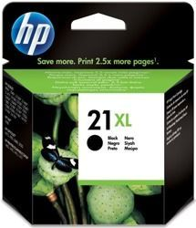 Tusz oryginalny HP 21XL BK (C9351CE)