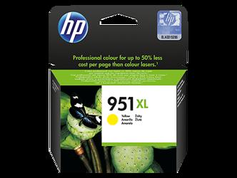 Tusz oryginalny HP 951XL Y (CN048AE)