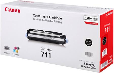 Toner oryginalny Canon 711BK