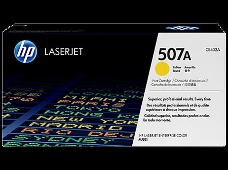 Toner oryginalny HP 507A, CE402A