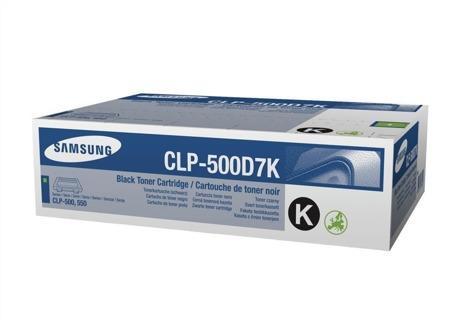 Toner oryginalny Samsung CLP-500D7K