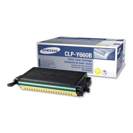 Toner oryginalny Samsung CLP-Y660B