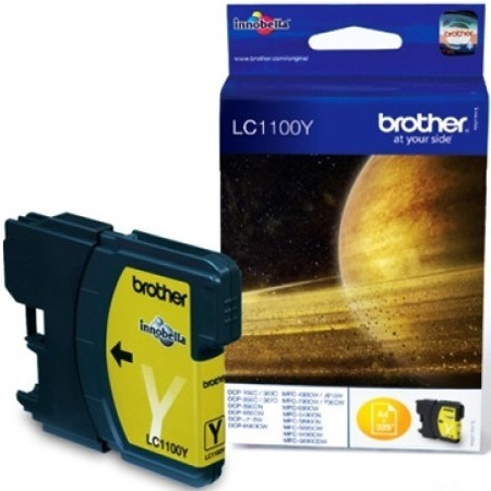 Tusz oryginalny Brother LC1100Y