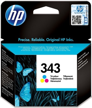 Tusz oryginalny HP 343 CMY (C8766EE)